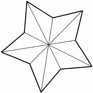 Star Pattern to Cut Out Template CHRISTMAS Pinterest