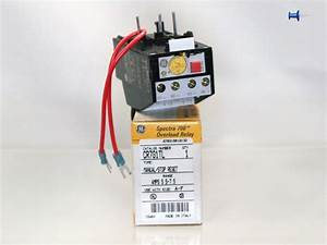 Ge Spectra 700 Overload Relay Cr7g1tl Manual  Stop Reset 5