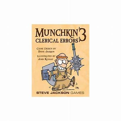 Clerical Munchkin Errors Redus Pret