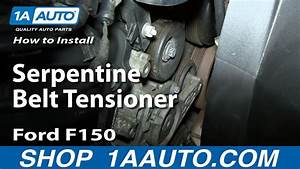 How To Replace Serpentine Belt Tensioner 04