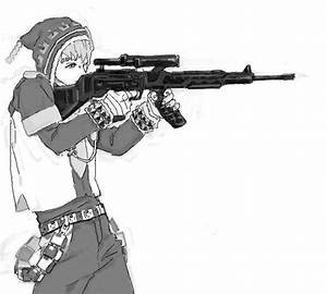 Anime boy with gun | Anime | Pinterest