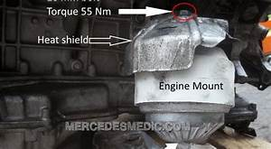 Diy How To Change Engine Mounts Mercedes