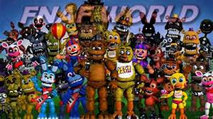 FNAF CHARACTERS THEME SONGS 1-4 - YouTube