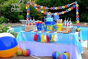The gallery for --> Swimming Pool Party Ideas