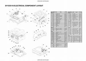 Ricoh Aficio Mp201f Mp201spf Service Parts Diagram