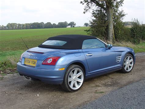 chrysler crossfire roadster   review