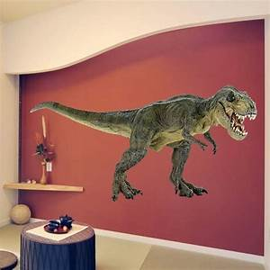 t rex decal animals wall decal murals primedecals With nice ideas dinosaur decals for walls