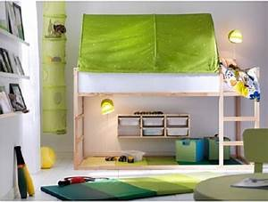 Ikea Chambre D Enfant : chambre d 39 enfant lit r versible kura par ikea ~ Preciouscoupons.com Idées de Décoration