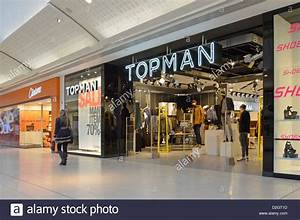 Topman clothing store shop front window in shopping mall ...