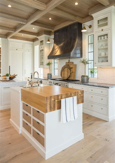 butcher kitchen island family home with timeless interiors home bunch interior 1879