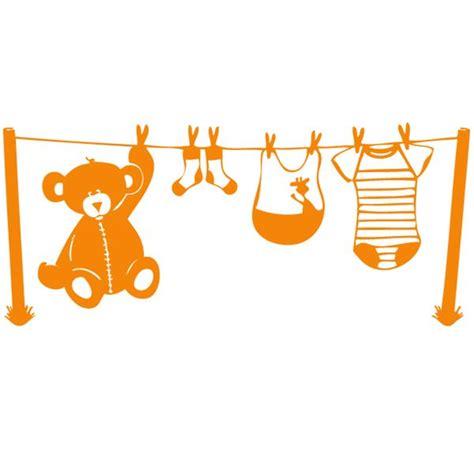 sticker chambre d enfant fil 224 linge enfants mixte destock stickers