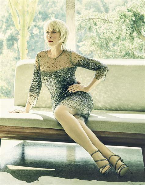 Dame Helen Mirren looks decades younger in new photoshoot ...