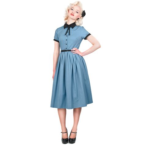 Collectif Cynthia Doll Vintage 50s Retro Pleated Party Prom Flared Tea Dress   eBay
