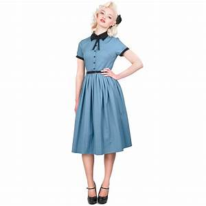 Collectif Cynthia Doll Vintage 50s Retro Pleated Party Prom Flared Tea Dress | eBay