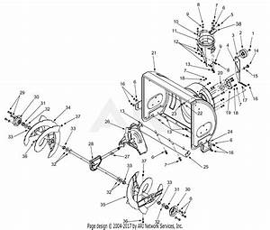 Mtd 31ae6a4e129  2001  Parts Diagram For Blower Housing