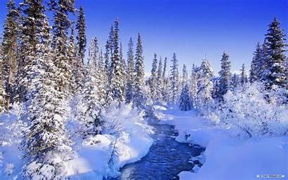 Winter Desktop Wallpapers Nature Backgrounds Background Scenes
