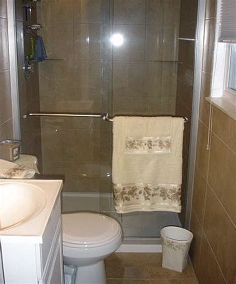 Design For Small Bathroom With Shower Of Well Bathroom