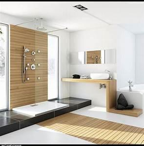 Salle De Bain Moderne Petit Espace : idee deco salle de bain petit espace 4 la d233co de ~ Dailycaller-alerts.com Idées de Décoration