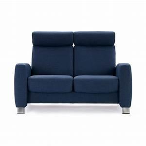 Relaxsofa 2 Sitzer : stressless sofa 2 sitzer arion m hoch blue stahl ~ Watch28wear.com Haus und Dekorationen