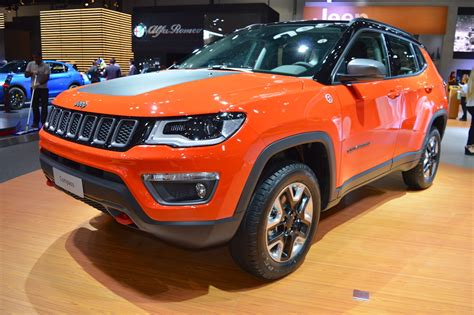 Jeep Compass Trailhawk showcased at the 2017 Dubai Motor Show