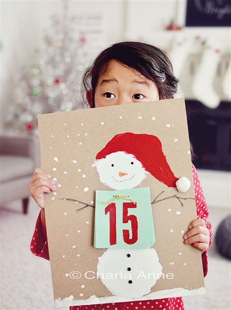 christmas countdown calendar craft 1022 best images about crafts on
