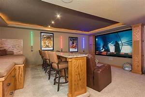 23 Amazing Finished Basement Theaters For Movie Time