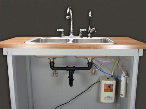 Install Kitchen Sink Drain Plumbing by Instant Water Filter Systems Installation Instructions