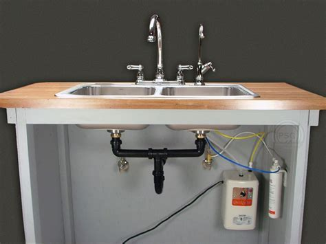 complete hot water filter system
