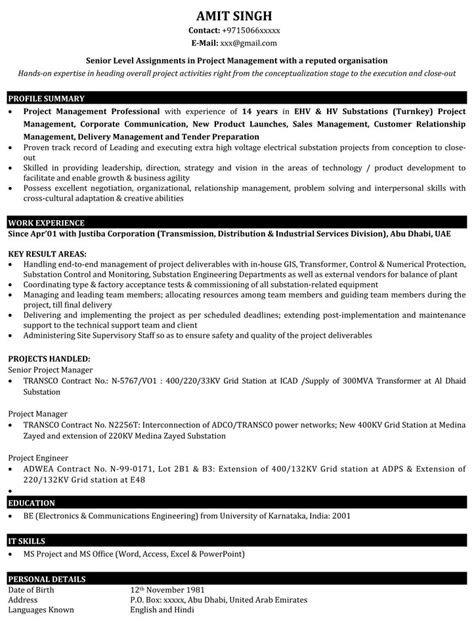 Resume Templates Indian - Download a Resume Template That Employers Will Love