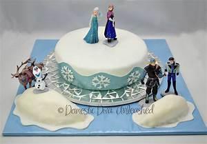 Frozen Birthday Cake — Domestic Diva Unleashed
