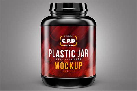 All files consist smart layers for easy edit. Free Plastic Jar Mockup | Mockuptree