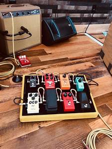 1 Tweed Pedalboard In Authentic  Genuine Tweed Fabric