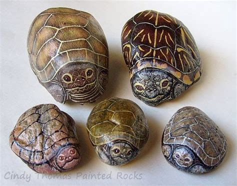 Painting Rock And Stone Animals Nativity Sets And More Rock