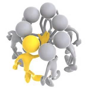 Team Meeting Huddle