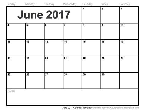 calendar template for june july august 2017 june 2017 calendar template