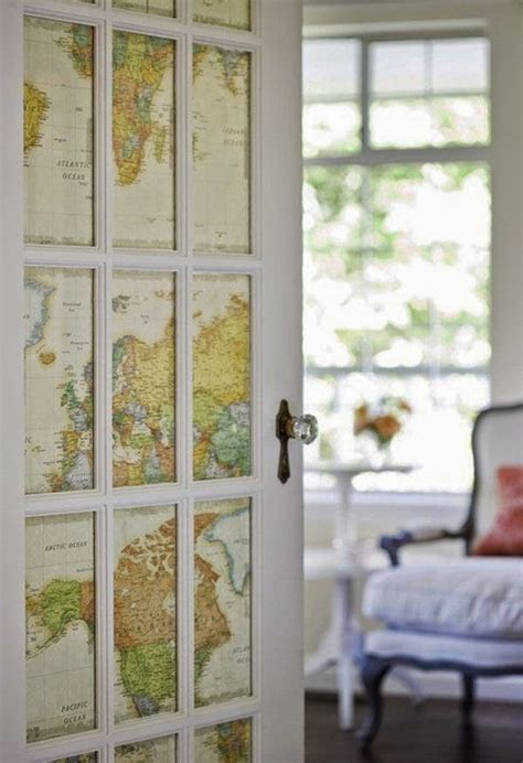Great Ideas For Decorating With Maps