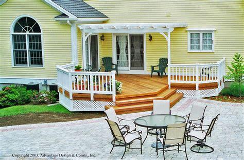 patio deck and patio home interior design
