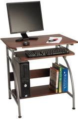 nilkamal vibe computer table walnut price in india