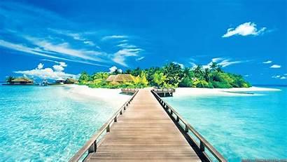 Summer Cool Wallpapers Beach Desktop Background Sunny