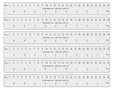 printable ruler   measurements marked safe