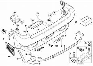 51127046920 - Support Rear Right Bumper Trim