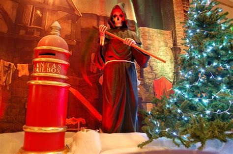 christmas carol theme decorations  props flaming fun