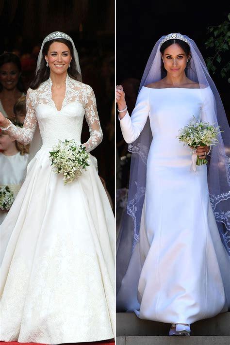 Meghan markle neue details zum hochzeitskleid royals. Kate vs. Meghan: Royale Hochzeiten im Vergleich in 2020 ...