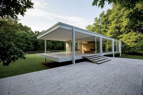 bureau of finance less means more in minimalist farnsworth house illinois