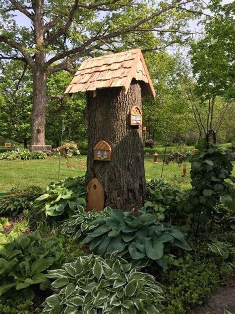 Tree Stump Decorating Ideas - best 25 tree stumps ideas on gnome tree stump