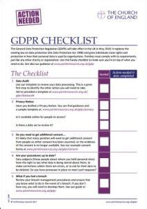 data protection parishes   gdpr parish resources