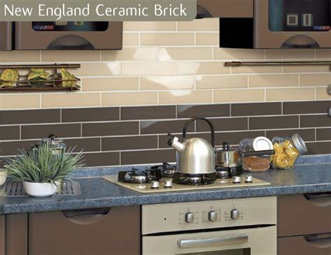 cheap kitchen wall tiles uk chocolate coloured brick wall kitchen tile 8172