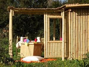 Pergola En Bambou : pergola en bambou pergola ~ Premium-room.com Idées de Décoration