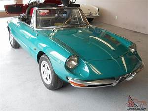 Alfa Romeo Spider 1968 : 1968 alfa romeo european tipo 10503 model 1600 duetto spider ~ Medecine-chirurgie-esthetiques.com Avis de Voitures