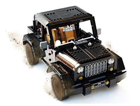 Lego Jeep Wrangler Rubicon A Block Made Of Blocks Technabob